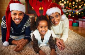 Entspannt Weihnachten feiern in der Familie.